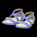 Paio di scarpe da ballo (Blu)