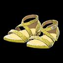Paio di scarpe da ballo (Dorato)