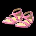 Paio di scarpe da ballo (Rosa)