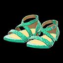 Paio di scarpe da ballo (Verde)