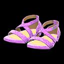 Paio di scarpe da ballo (Viola)