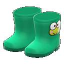 Paio stivali Kerokerokeroppi (Verde)