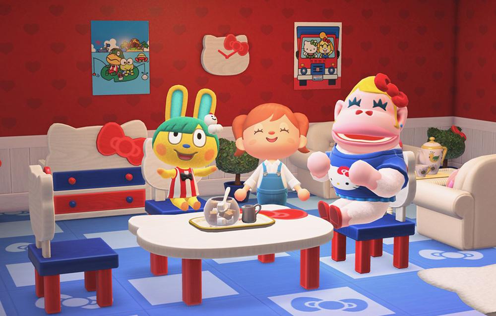 Come invitare gli abitanti ispirati ai personaggi Sanrio sulla nostra isola di Animal Crossing: New Horizons