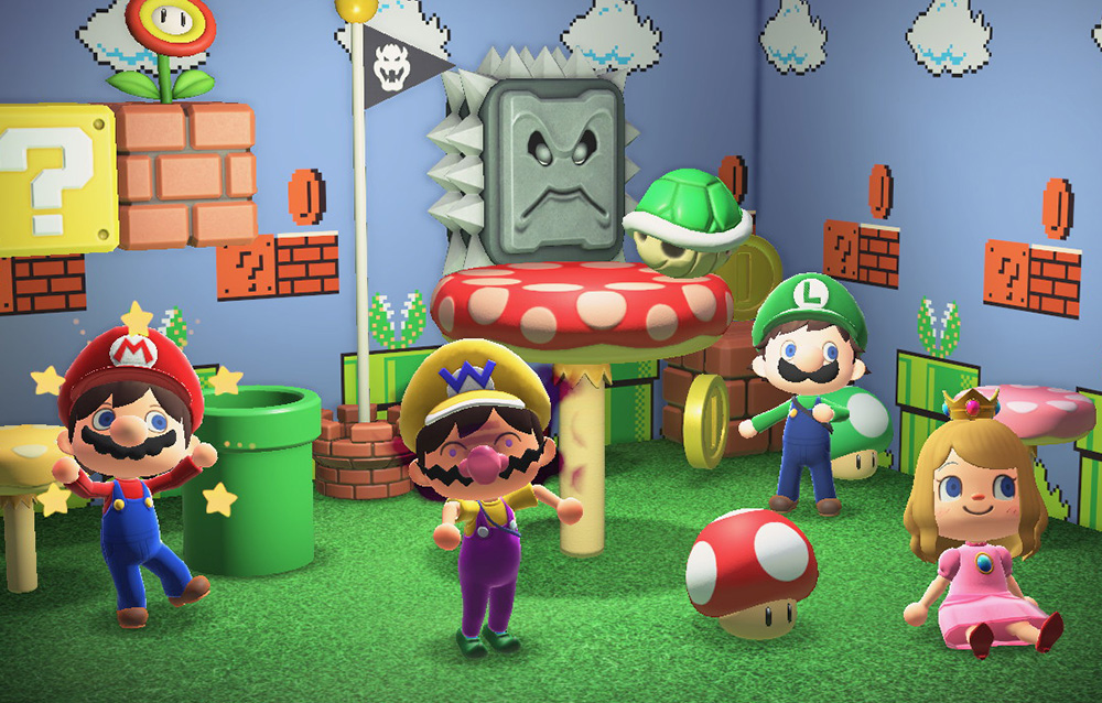 Come travestirci nei personaggi di Super Mario in Animal Crossing: New Horizons