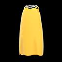 Vestito di raso (Giallo)