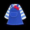 Vestito Hello Kitty (Blu)