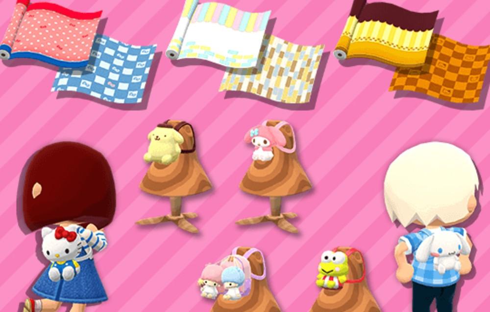 Animal Crossing: Pocket Camp, tre collezioni Sanrio sono di nuovo disponibili!