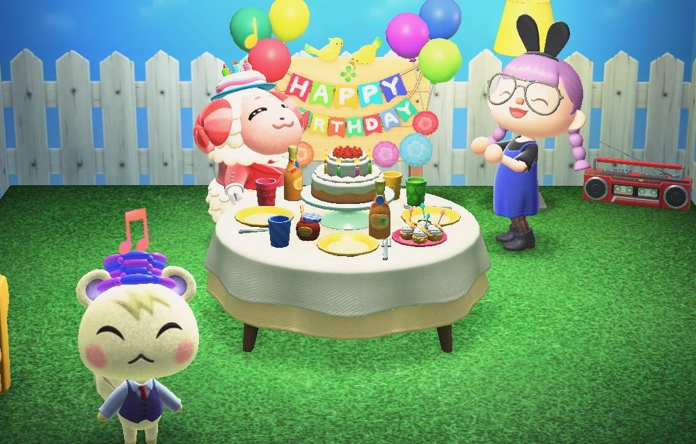 Animal Crossing: New Horizons, ecco tutti i festeggiati di questa settimana (12/04 – 18/04)!
