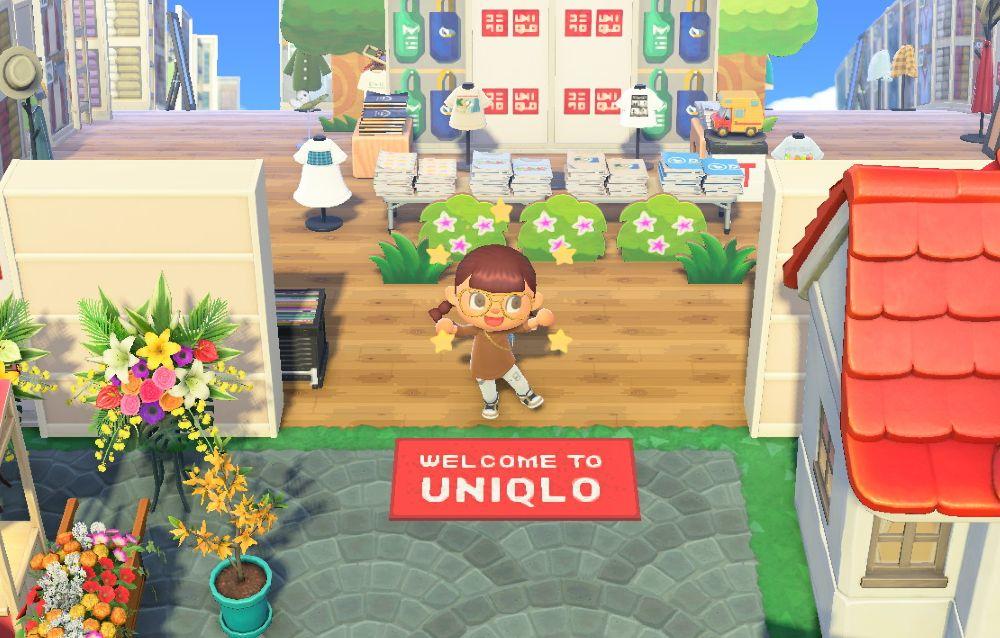 UNIQLO, l'azienda di abbigliamento giapponese, apre le porte della sua isola su Animal Crossing: New Horizons!