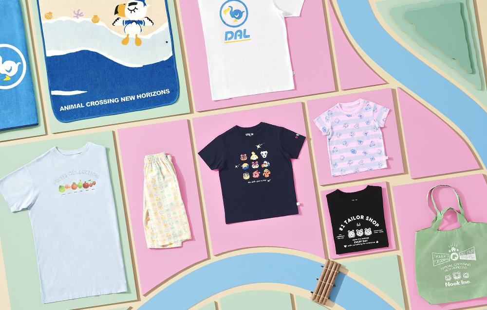 La collezione d'abbigliamento UNIQLO a tema Animal Crossing: New Horizons è disponibile ora anche in Italia!