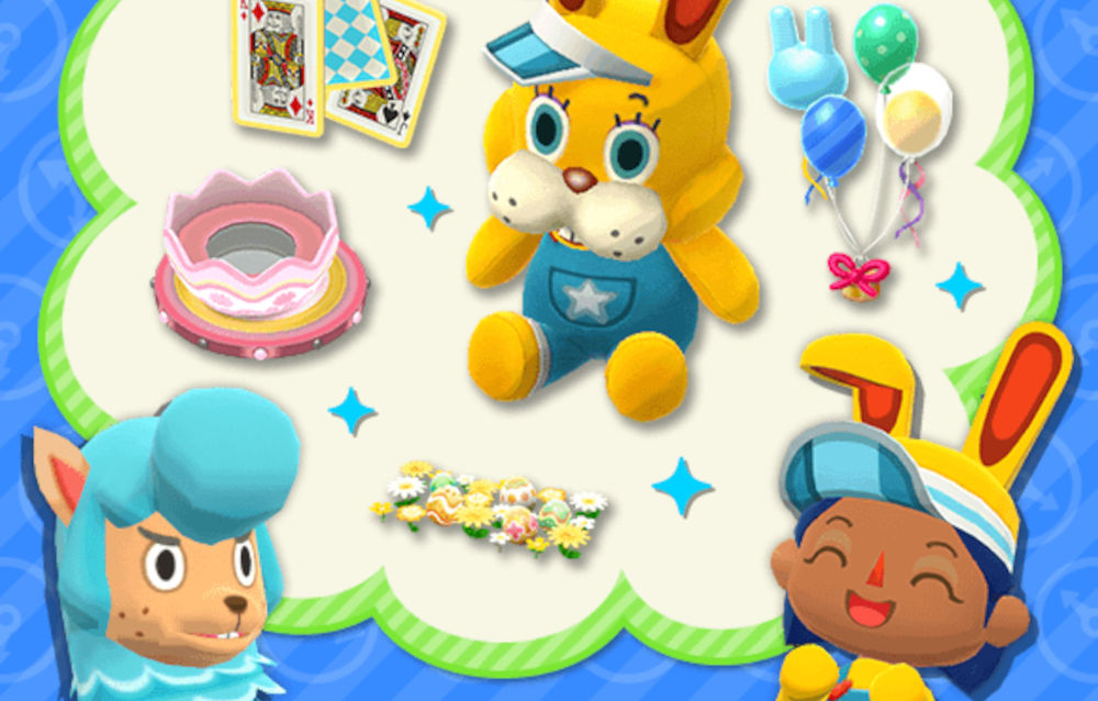 Animal Crossing: Pocket Camp, quattro serie dal passato a tema pasquale sono tornate disponibili!