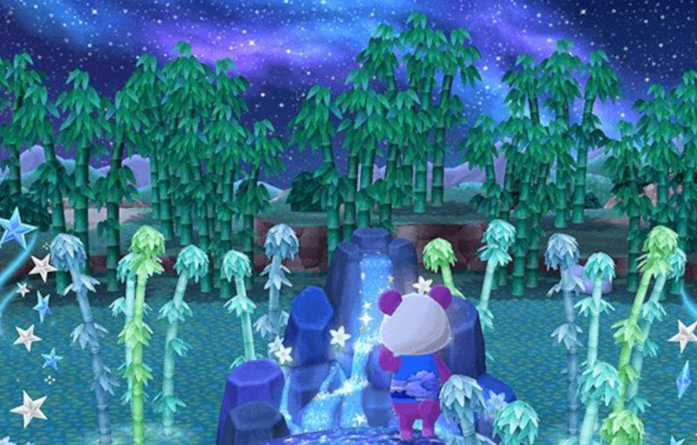 Animal Crossing: Pocket Camp, è arrivato un nuovo terreno a tema bambù!