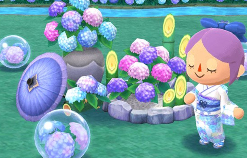 Animal Crossing: Pocket Camp, è iniziato l'evento stagionale Ode alle ortensie!