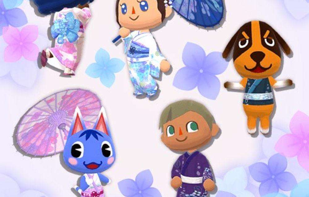 Animal Crossing: Pocket Camp, è arrivata la collezione Ortensie d'oriente!