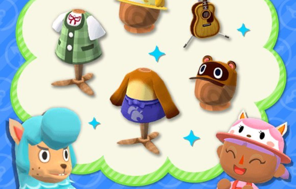 Animal Crossing: Pocket Camp, la serie giroidite sosia è tornata disponibile!