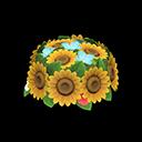 Corona girasoli (Giallo)