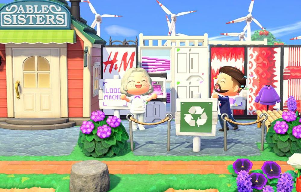 H&M e Maisie Williams insieme su Animal Crossing: New Horizons per un progetto di moda sostenibile!