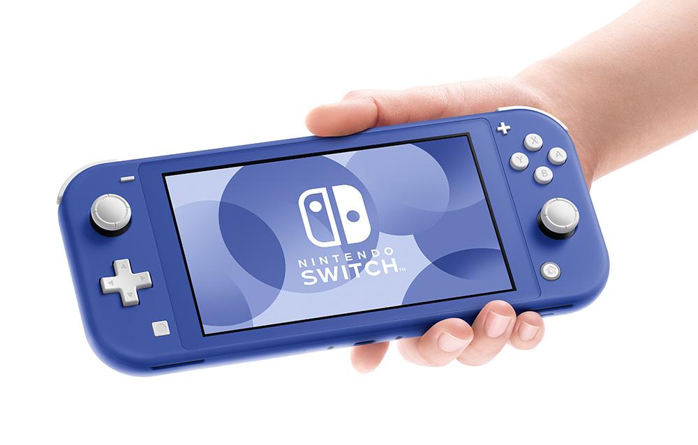 Nintendo Switch Lite: disponibile al preordine la console nella nuova colorazione blu!