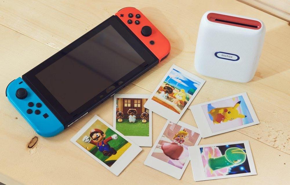 Nintendo ha realizzato una stampante fotografica istantanea in collaborazione con Fujifilm!