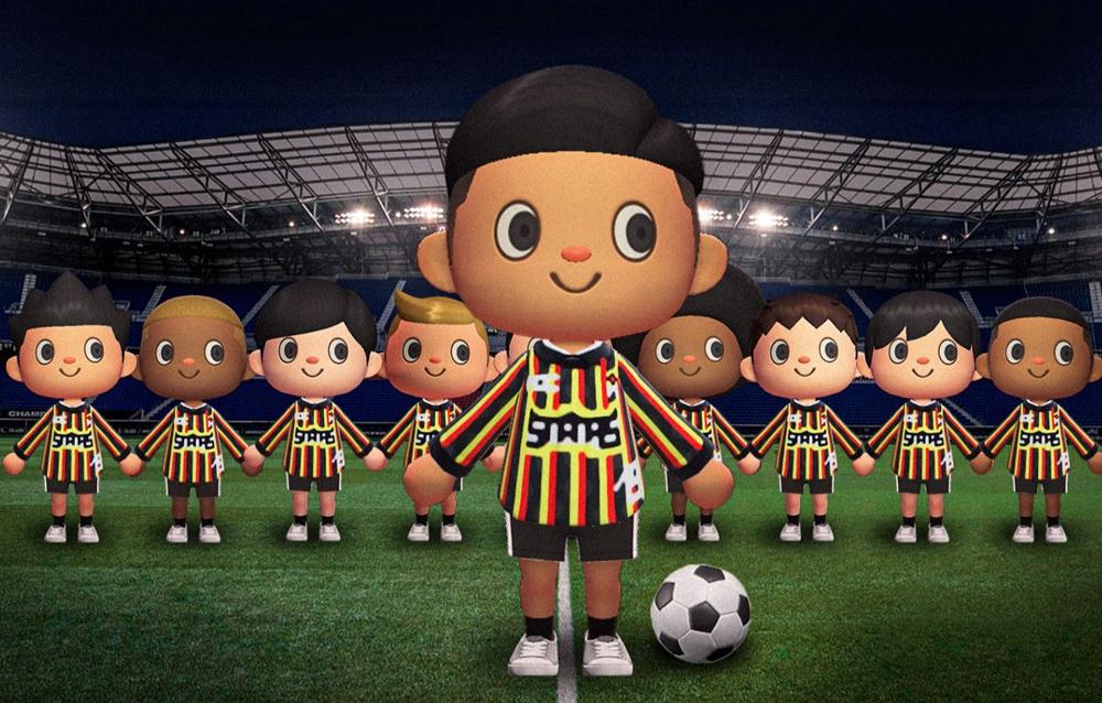 NSS debutta su Animal Crossing: New Horisons con una collezione di football jersey in collaborazione con Puma e StockX!