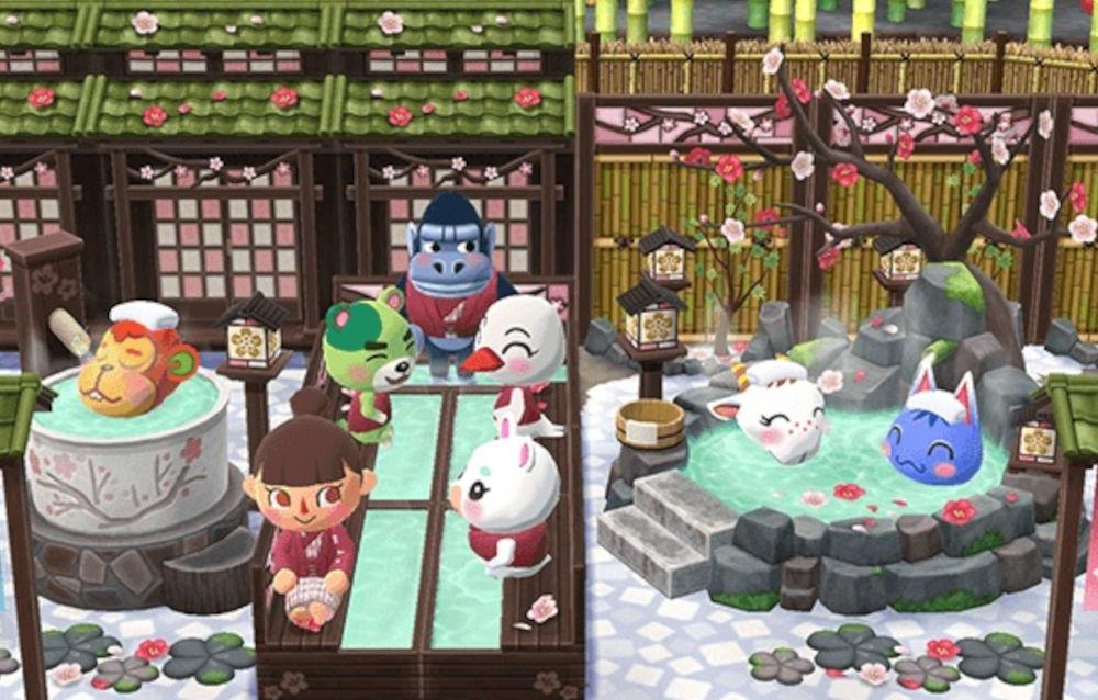 Animal Crossing: Pocket Camp, il biscotto terme di Diletta è di nuovo disponibile!