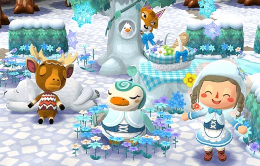 Animal Crossing: Pocket Camp, il biscotto fiaba d'inverno è di nuovo disponibile!