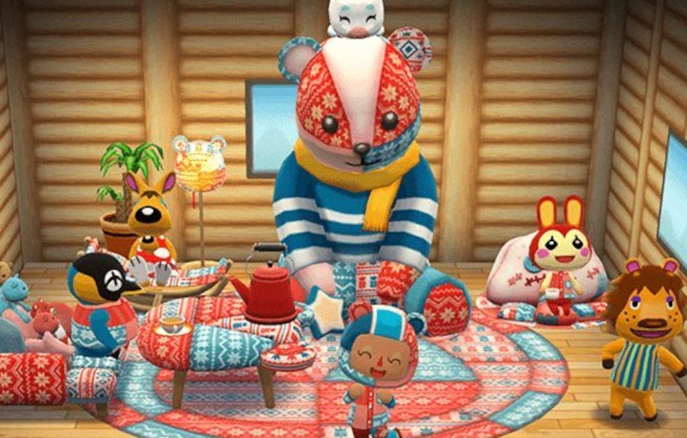 Animal Crossing: Pocket Camp, il biscotto patchwork invernale è di nuovo disponibile!