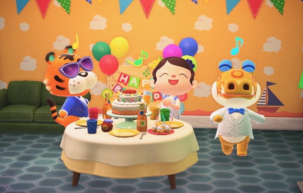 Animal Crossing: New Horizons, ecco tutti i festeggiati di questa settimana (14/06 – 20/06)!