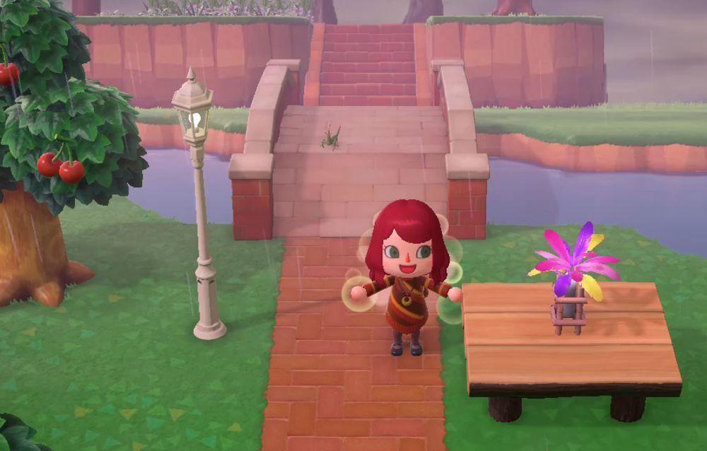 Animal Crossing: New Horizons, scoperto un glitch che permette di posizionare oggetti al centro di un tavolo!
