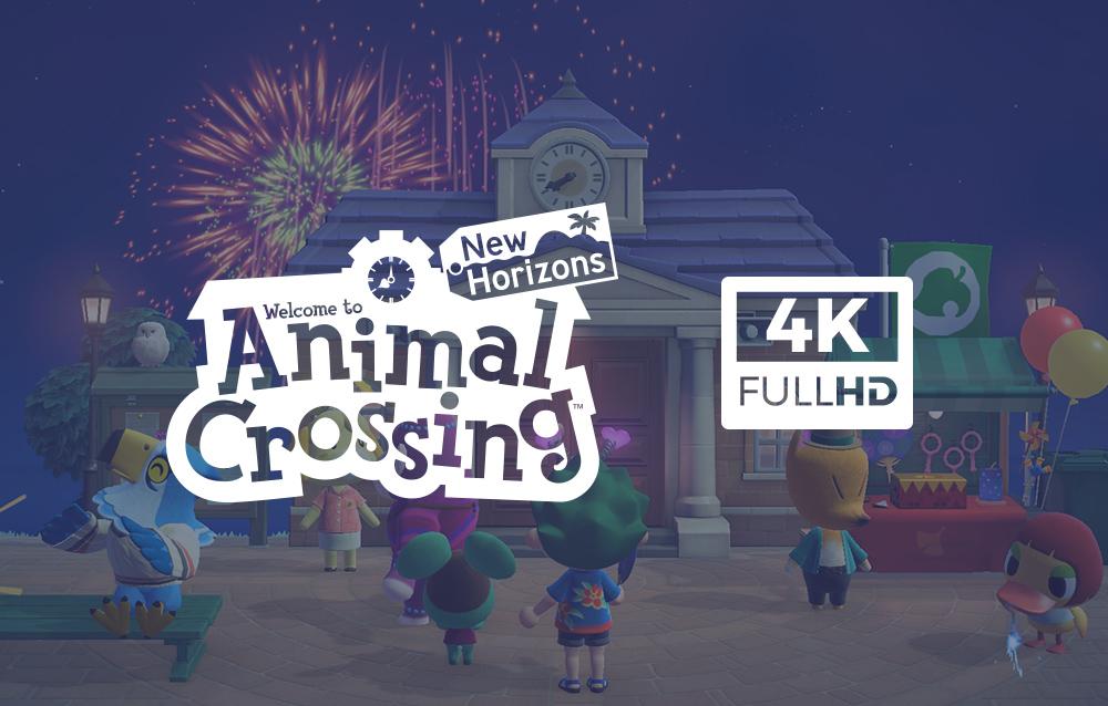 Animal Crossing: New Horizons, Nintendo ha iniziato a condividere sui social screenshot di gioco in 4K!