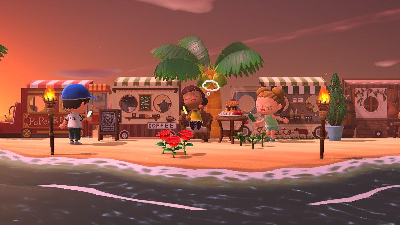 I locali sulla spiaggia