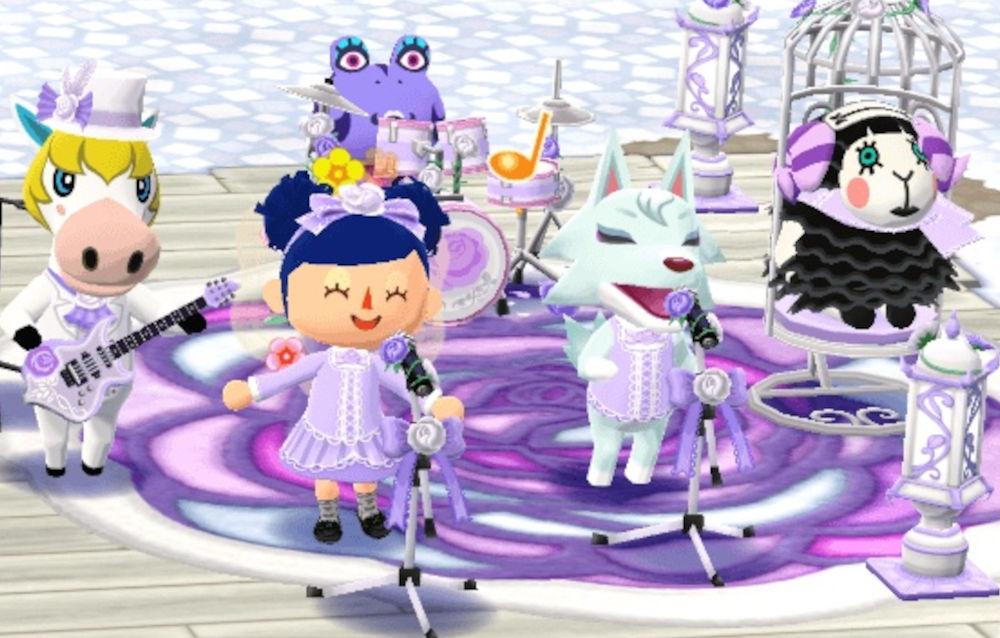 Animal Crossing: Pocket Camp, il biscotto rosa gotica bianca è di nuovo disponibile!