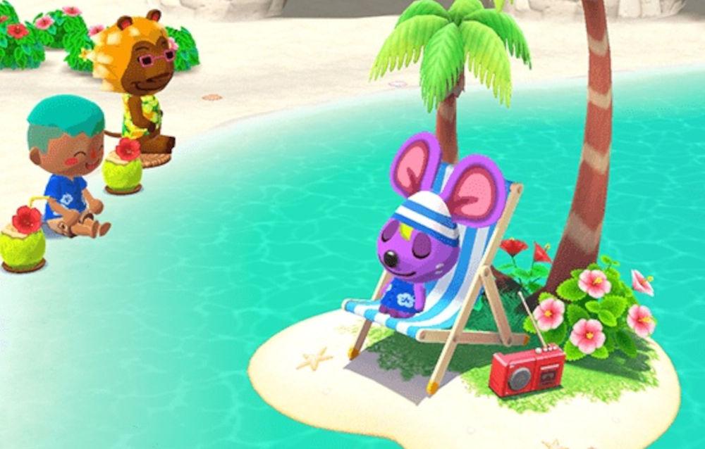Animal Crossing: Pocket Camp, è iniziato l'evento stagionale Tropicallegria estiva!