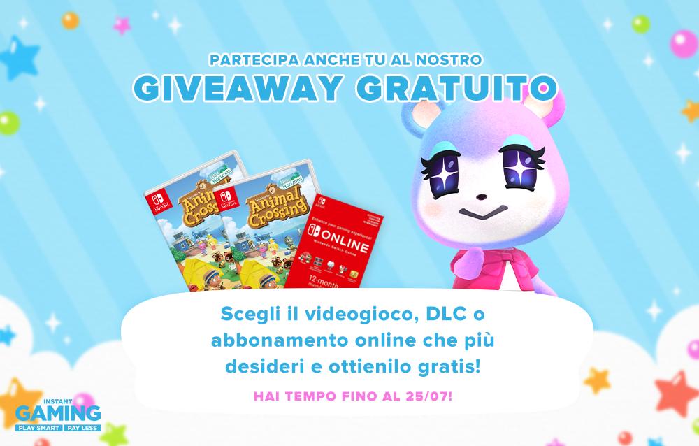 Partecipa al nostro Giveaway speciale in collaborazione con Instant Gaming e ottieni gratis una copia di qualsiasi videogioco, DLC o abbonamento online!