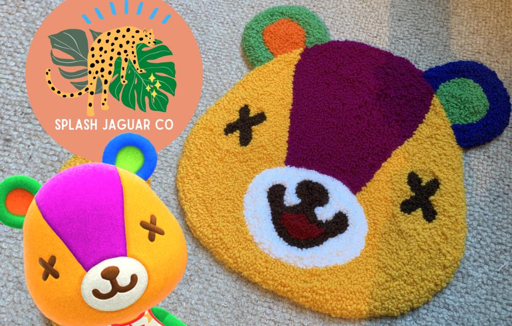 Un fan ha creato dei tappeti ispirati agli abitanti di Animal Crossing: New Horizons!