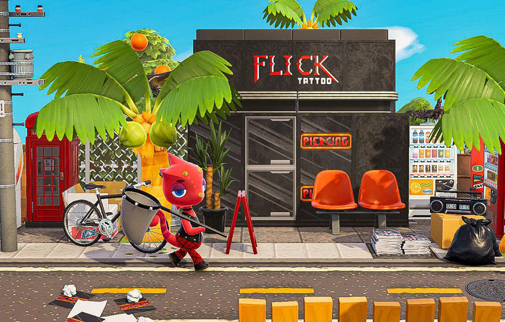 Una fan sta ricreando diversi edifici utilizzando dei design personalizzati su Animal Crossing: New Horizons!