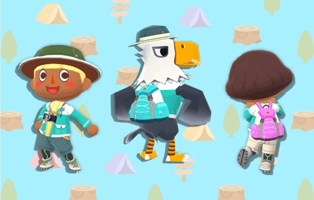 Animal Crossing: Pocket Camp, è arrivata la collezione trekking!