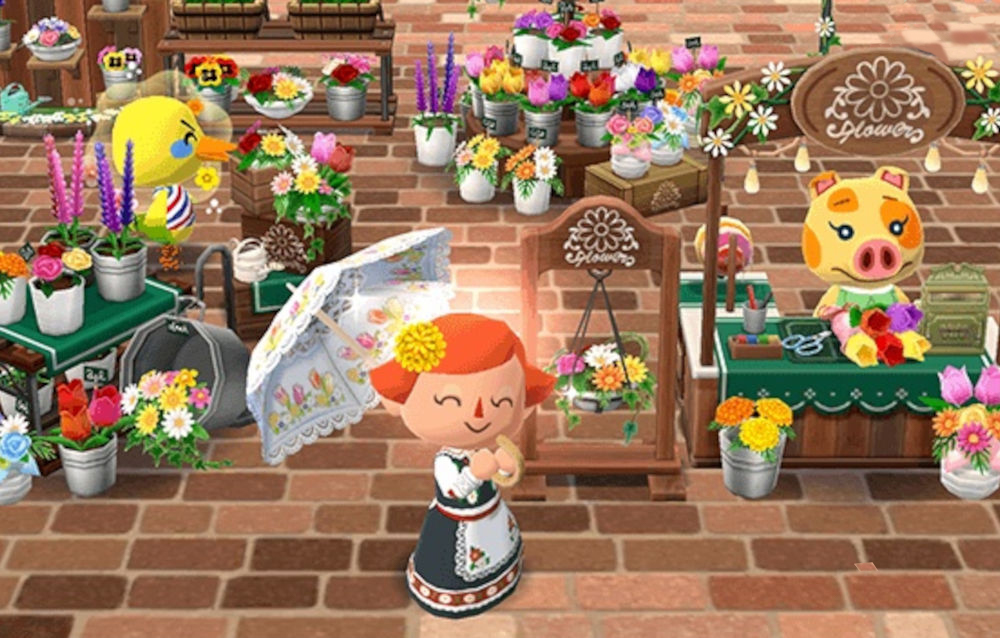Animal Crossing: Pocket Camp, il biscotto fioraio di Marcella è di nuovo disponibile!