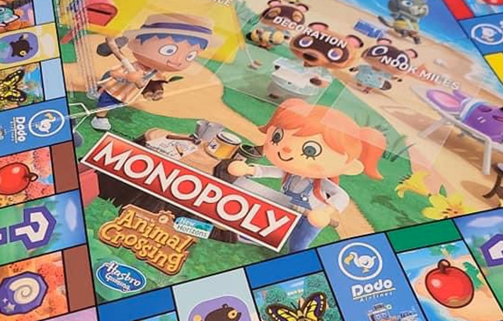 Animal Crossing: New Horizons, in arrivo il Monopoly ufficiale!