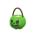 Cesto di caramelle brividi (Verde)