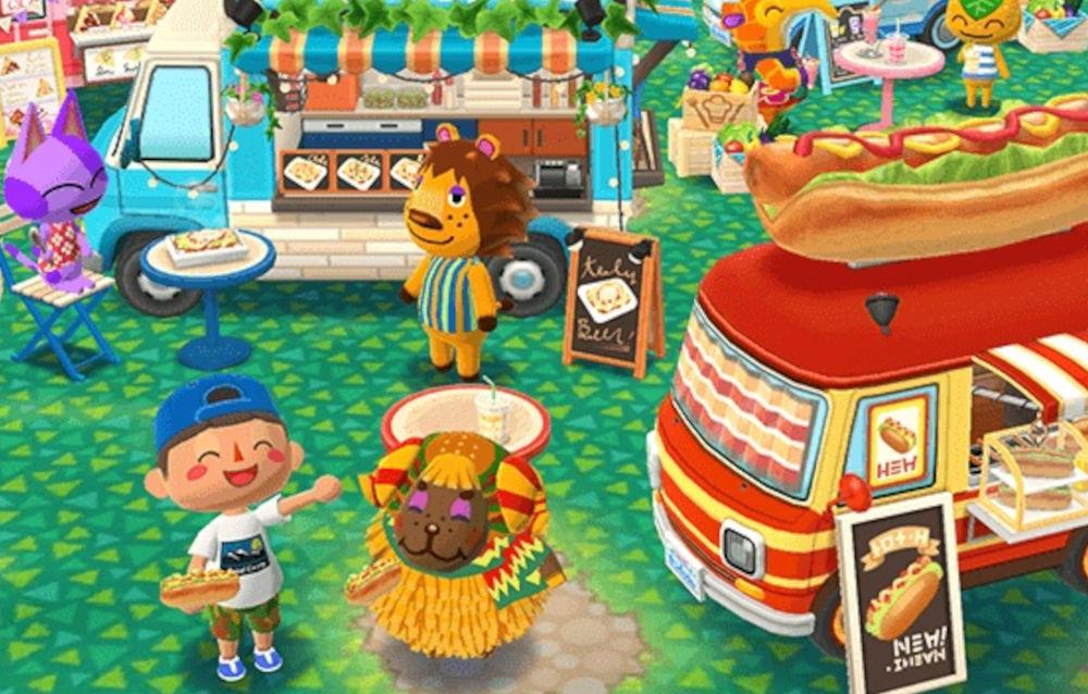 Animal Crossing: Pocket Camp, il biscotto street food di Rex è disponibile!