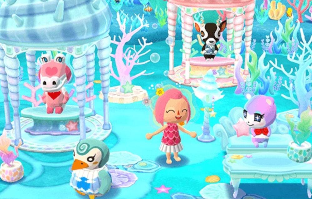Animal Crossing: Pocket Camp, cominciato l'evento in giardino Oasi subacquea di Pasqualo!