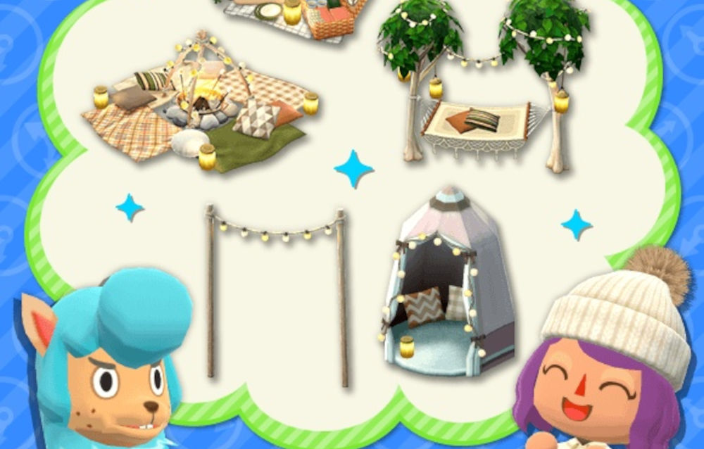 Animal Crossing: Pocket Camp, la serie campeggio illuminato è tornata disponibile!