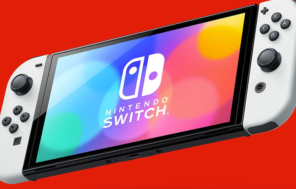 Nintendo Switch OLED, disponibile da ora il preordine della console!