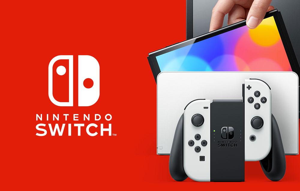 È stato annunciato il nuovo modello OLED di Nintendo Switch!