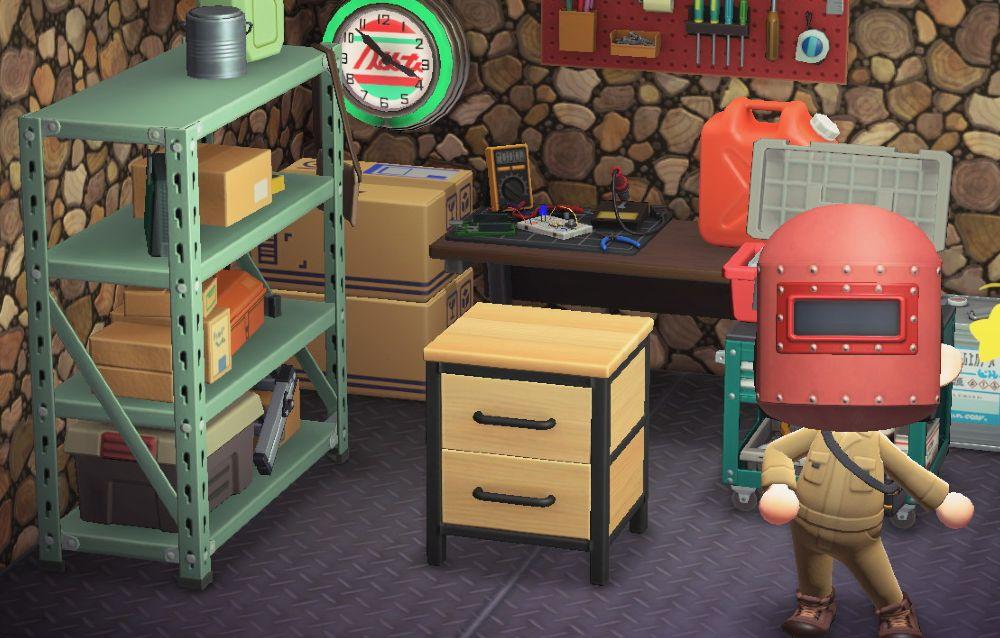 Un fan ha realizzato il comodino di legno ferro di Animal Crossing: New Horizons nella realtà!