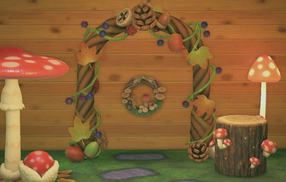 Un fan ha realizzato una replica della ghirlanda tema fungo di Animal Crossing: New Horizons!