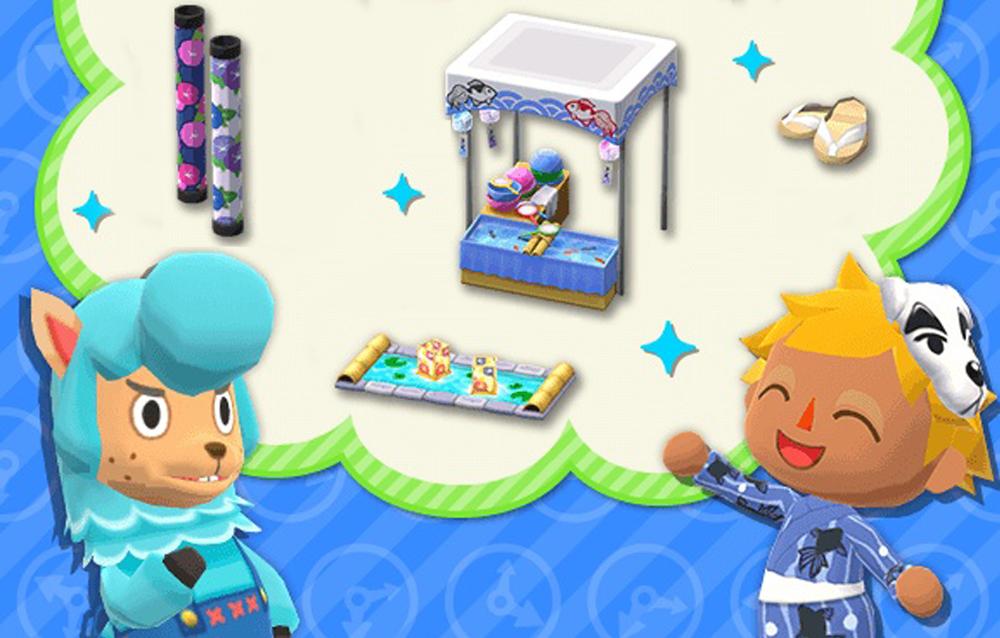 Animal Crossing: Pocket Camp, due serie dal passato a tema estivo sono di nuovo disponibili!