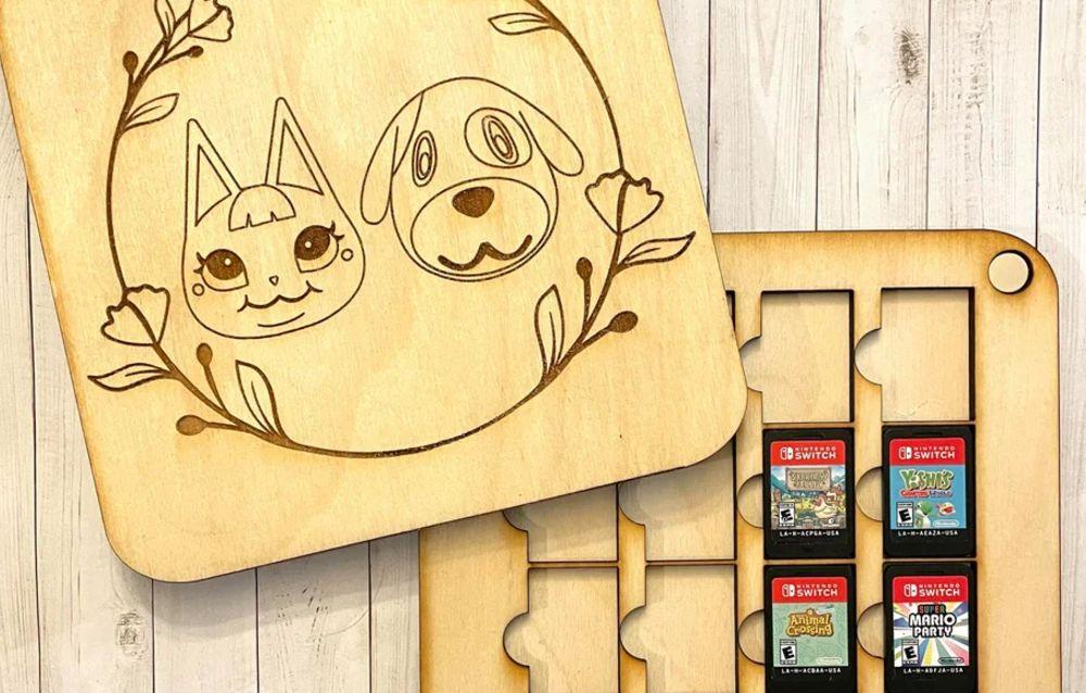 Un utente di Reddit ha creato dei porta schedine della Switch ispirandosi ai personaggi di Animal Crossing: New Horizons!