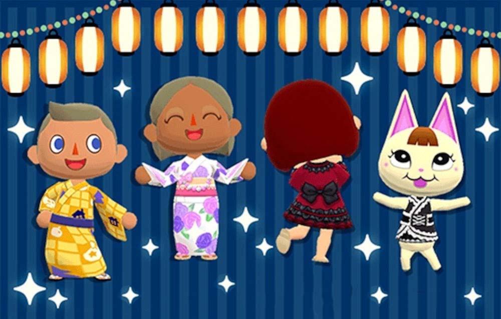 Animal Crossing: Pocket Camp, due collezioni Yukata sono tornate disponibili!